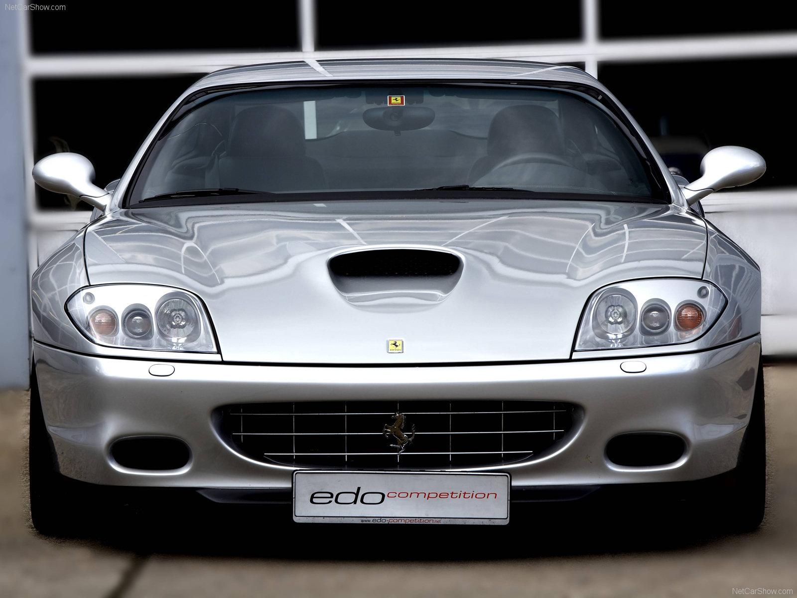 Hình ảnh siêu xe Edo Ferrari 575 Maranello 2005 & nội ngoại thất