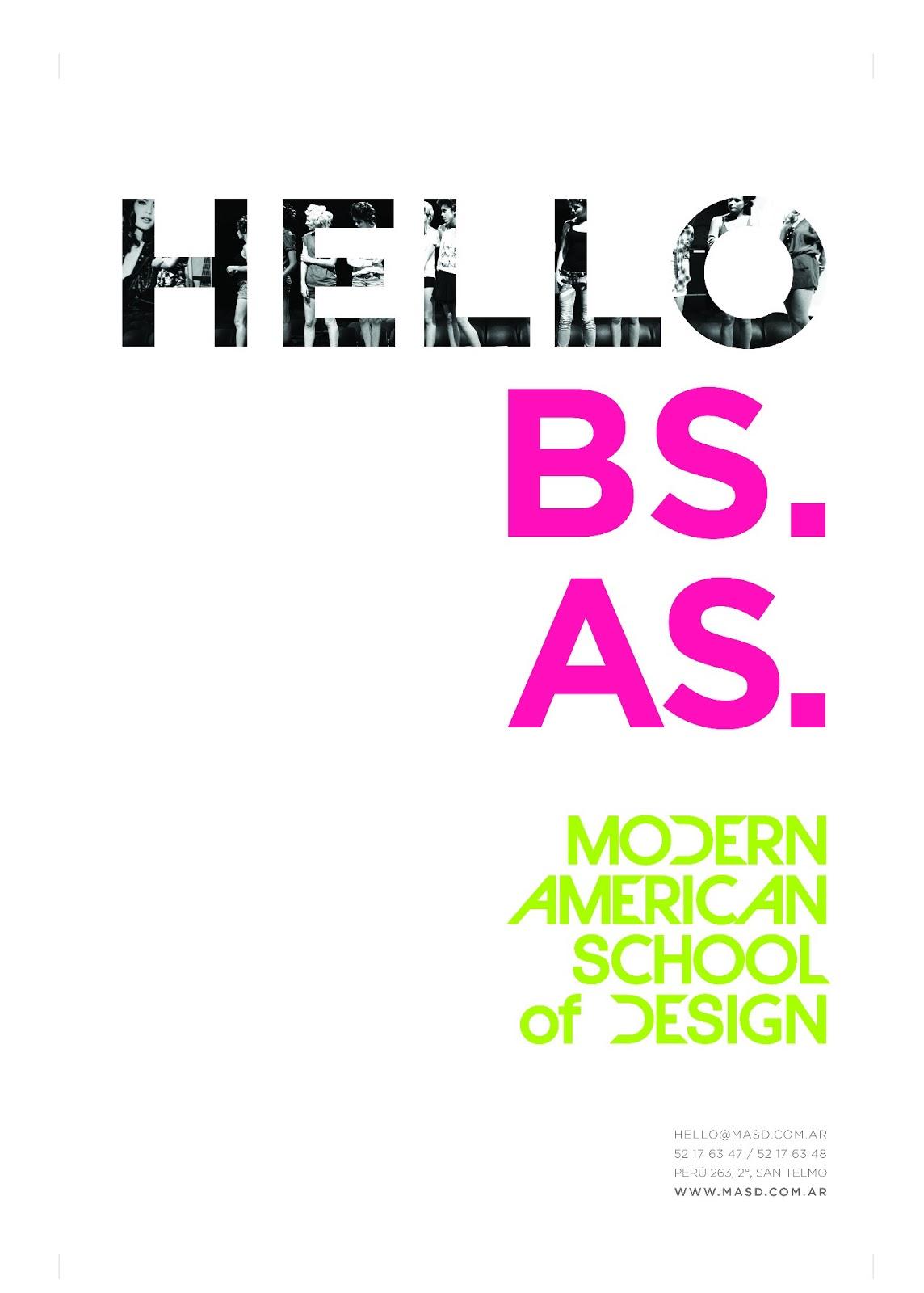 masd modern american school of design hello ba loca x la moda