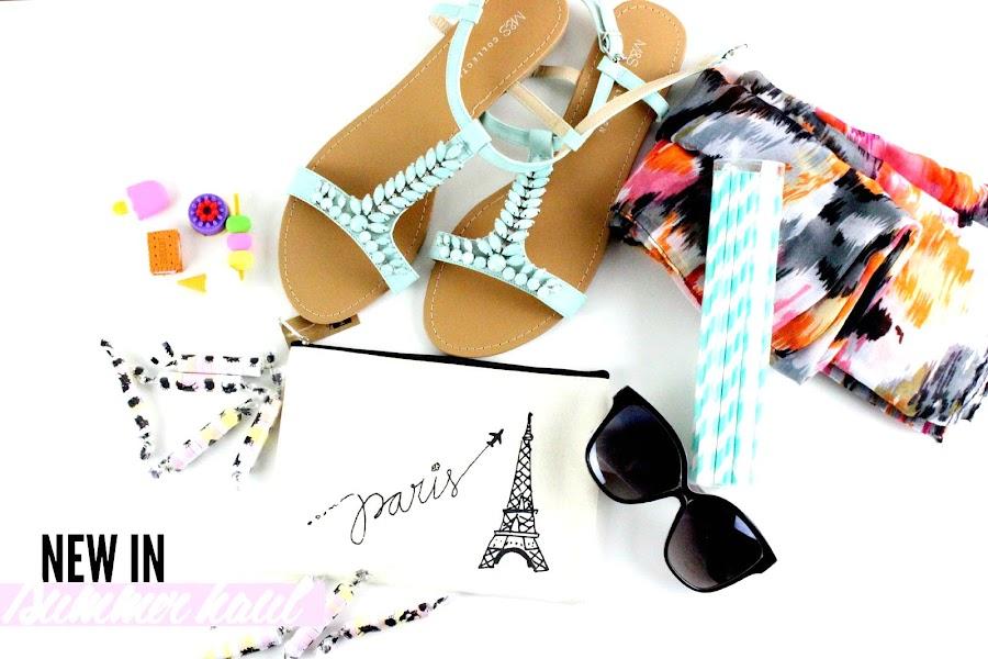 New in #6 | Summer Haul (Hema, Marks & Spencer, Moa...) julieetsesfutilites.blogspot.fr