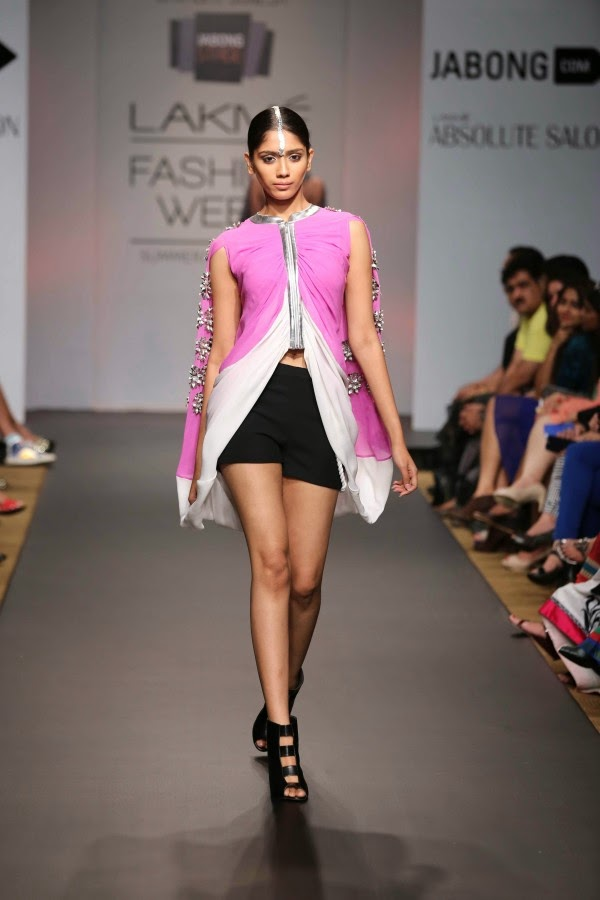 Urvashi Joneja creation at LFW Summer/Resort 2014