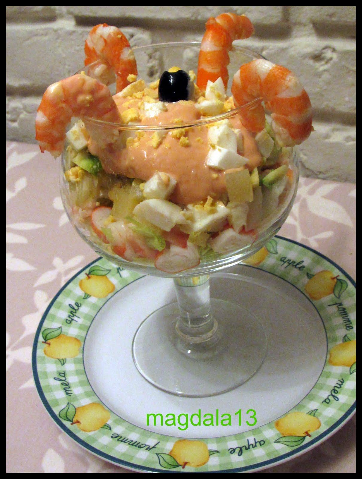 Coctel De Langostinos Y Aguacates Cocina Canaria ~ Coctel De Aguacate Y Langostinos