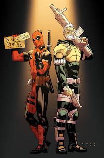 Deadpool & Cable: Split Second #1 - Anka Variant