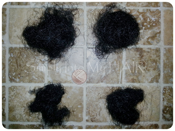 Crochet Braids Hair Loss : This is the total amount of hair lost during the take down and wash ...