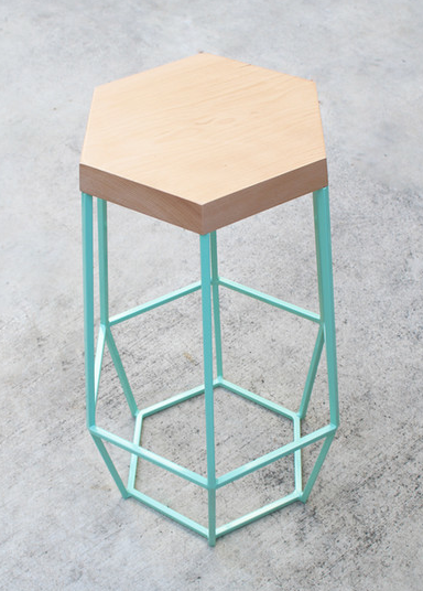 Timber & Ore Bar Stool