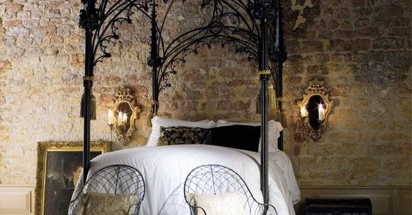 dekobook lit baldaquin baroque. Black Bedroom Furniture Sets. Home Design Ideas