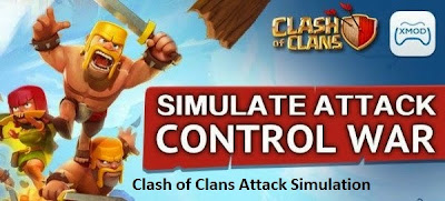 Clash of Clans Attack Simulation