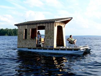Momentum Build Your Own Houseboat To Cruise Sebago Lake