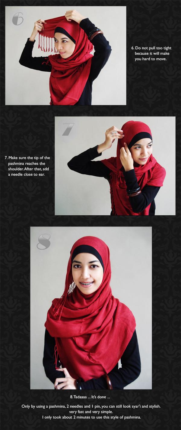 KIVITZ KIVITZ Hijab Tutorial Pashmina