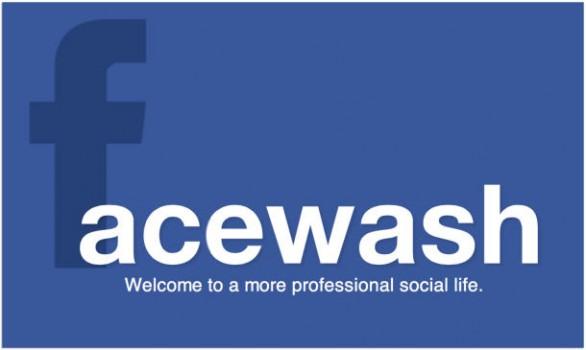 FaceWash facebook app