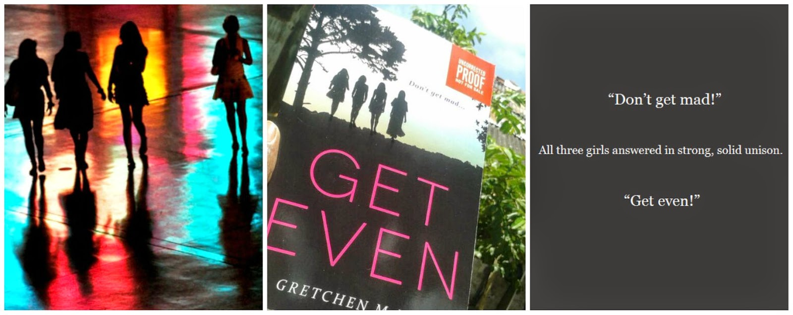 Book Review Get Even Gretchen McNeil