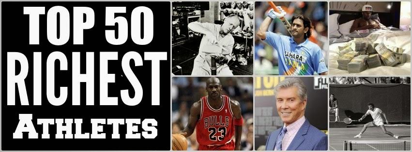 Top 50 Richest Athletes - Athlete Networth - Tony Horton Networth - Shaun T Networth