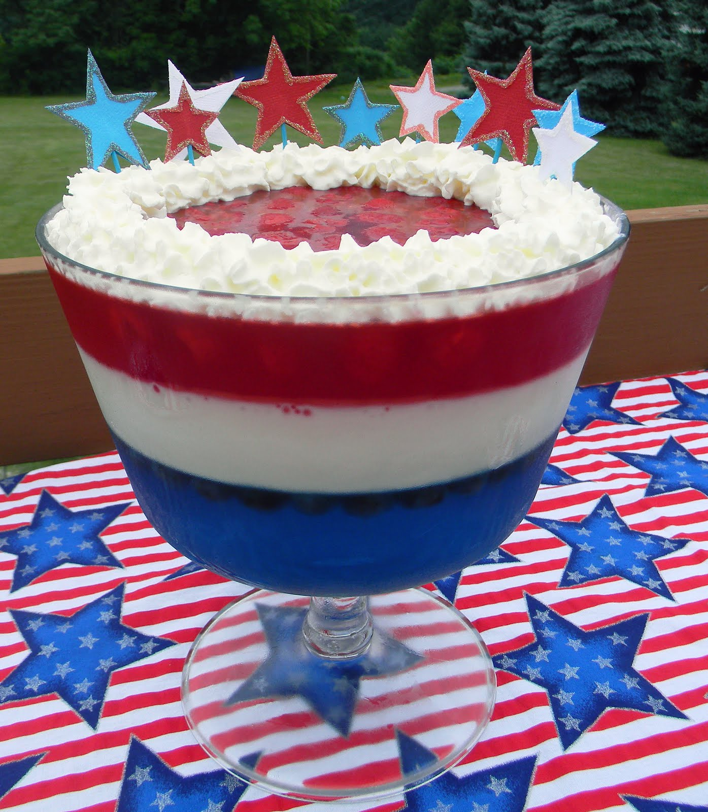 It S All Good Red White Blue Dessert