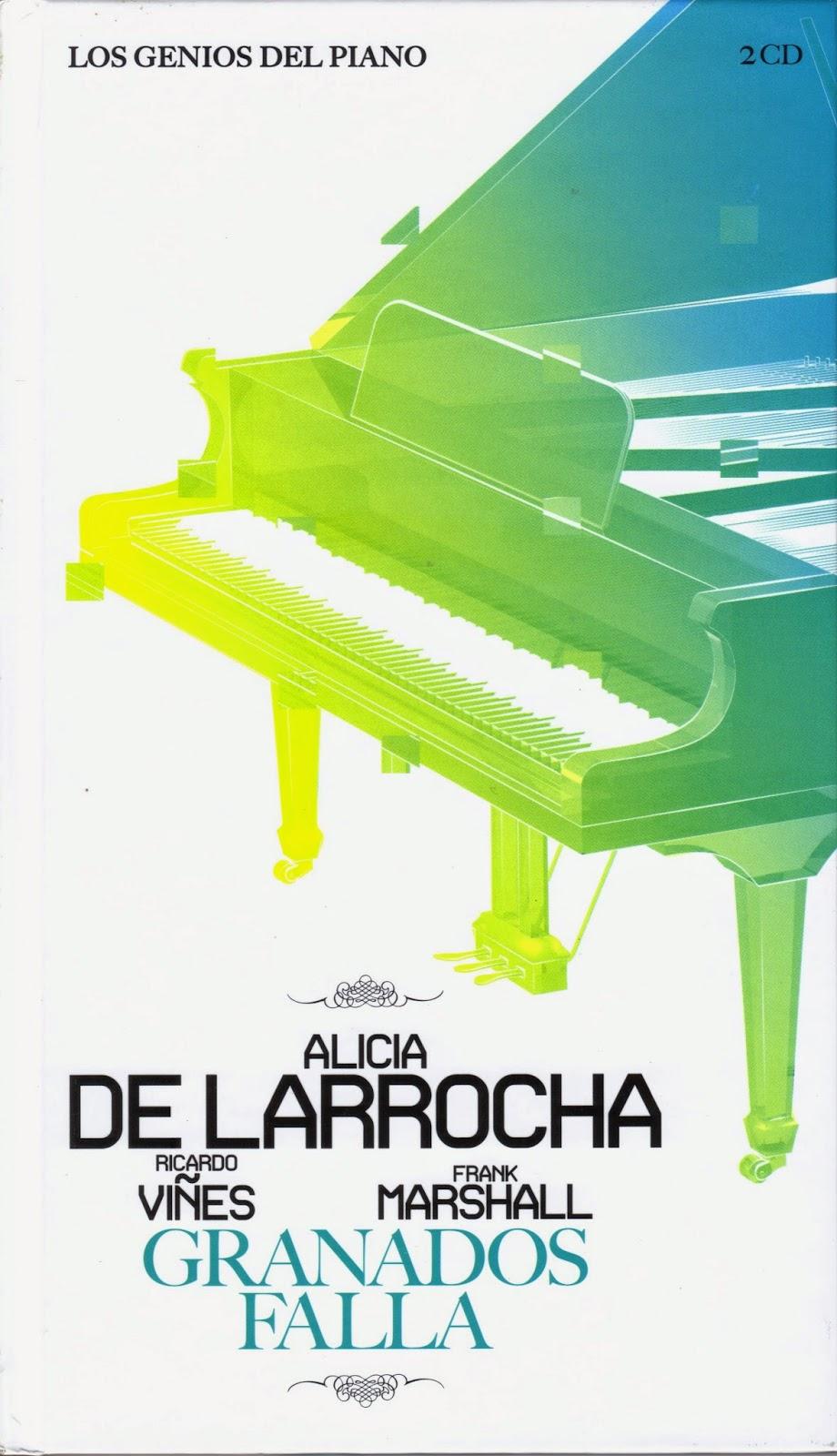 Imagen de Colección Los Genios del Piano-02-Alicia de Larrocha, Ricardo Viñes, Frank Marshall & Granados y Falla