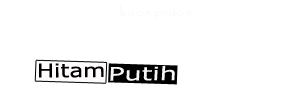 Kaos Polos Hitam Putih