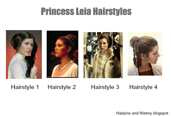Hairpins And History Coming Soon Princess Leia Hairstyles