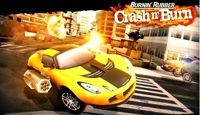 Burnin Rubber Crash n Burn Android Game