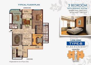 Amrapali Titanium :: Floor Plan