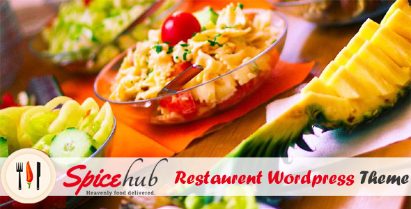 SpiceHub - Restaurent Wordpress Theme