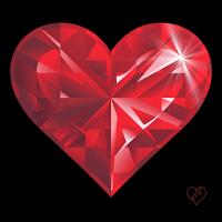 Рубиновое сердце от Анюты