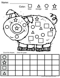 http://www.teacherspayteachers.com/Product/Piggy-Shape-Graph