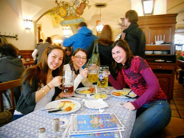 Hofbrauhaus in Munich, Germany