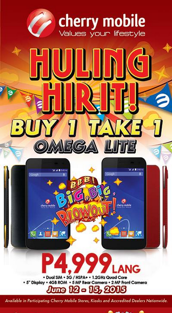 Cherry Mobile Omega Lite