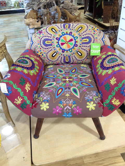 Suzani Embroidered Lounge Chairs Similar To These.