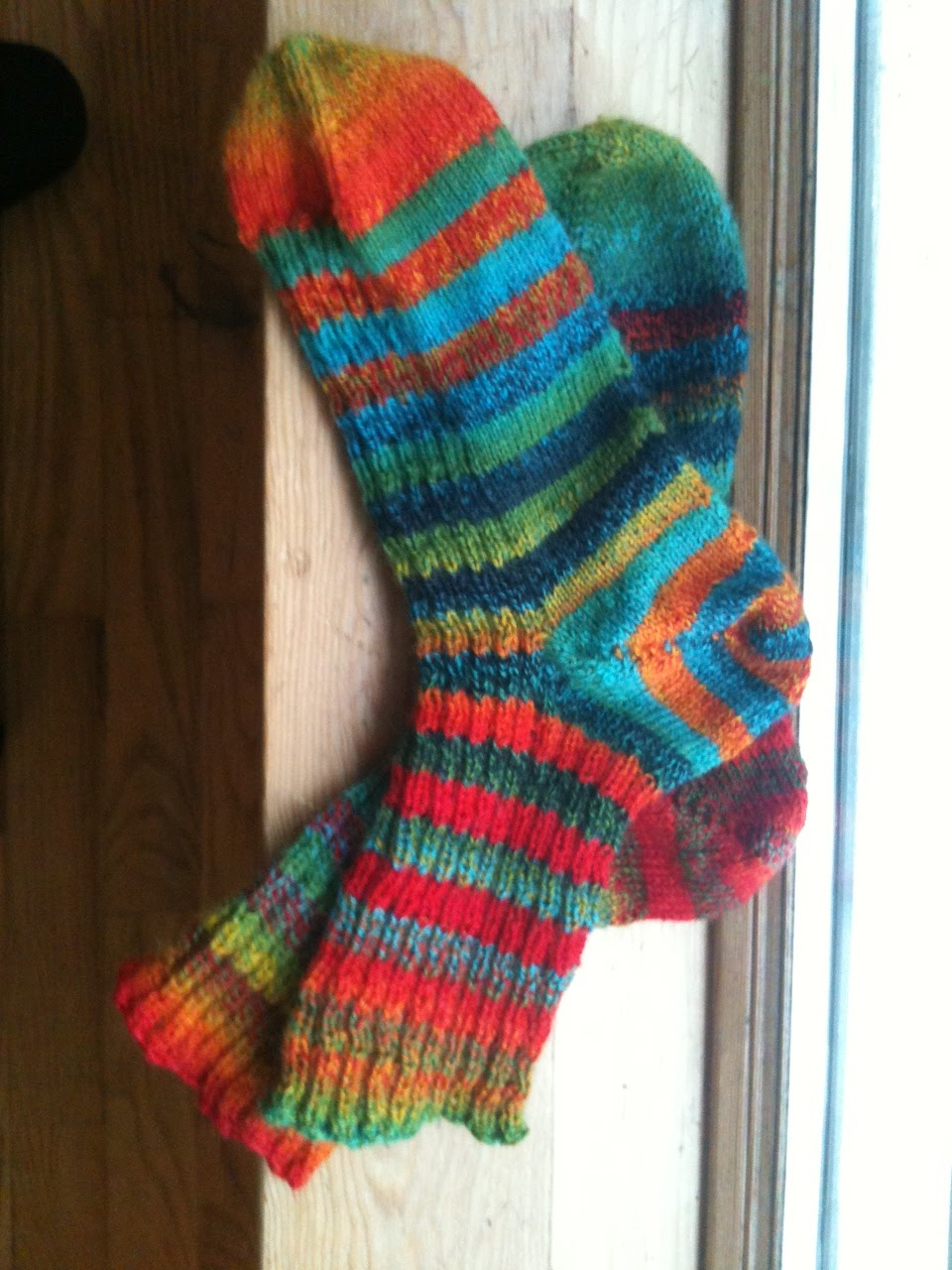 Knit Better Socks: Using Slow-Striping Yarns