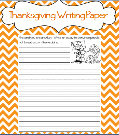 Essays about thanksgiving