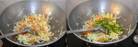 how to prepare vegetable hakka noodles