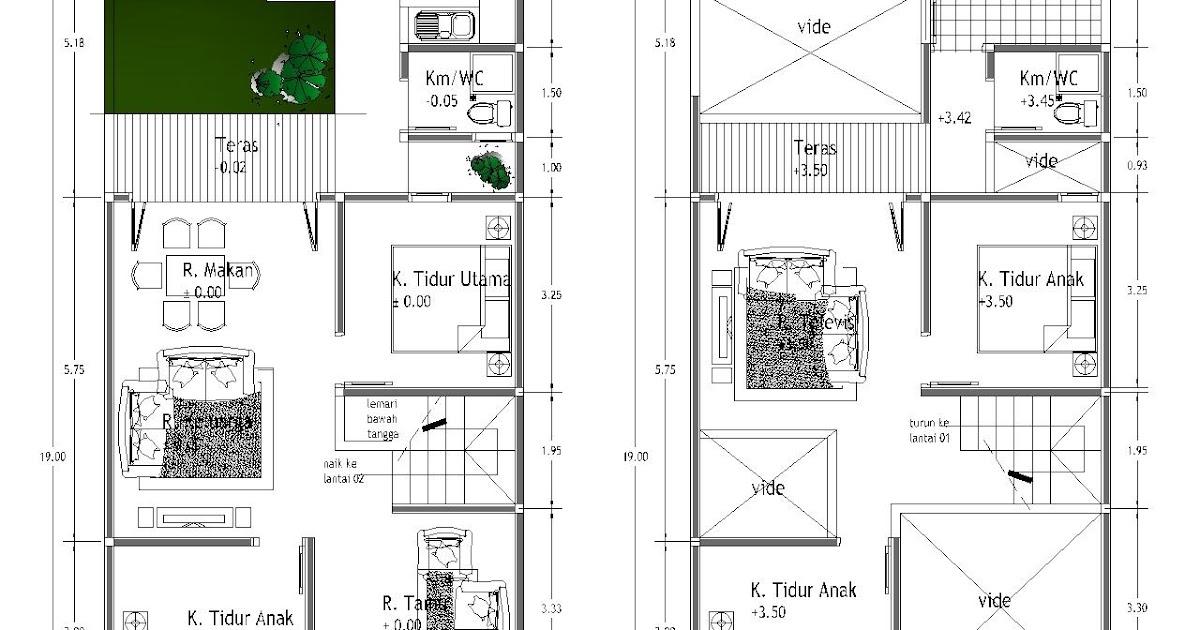 desain rumah minimalis 1 lantai type 36