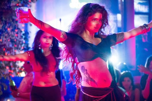 bollywood actress exposed Prachi Desai's hot body curvicious body hot unseen item dance song pics from ek villian hot tatto on stomach hot pics
