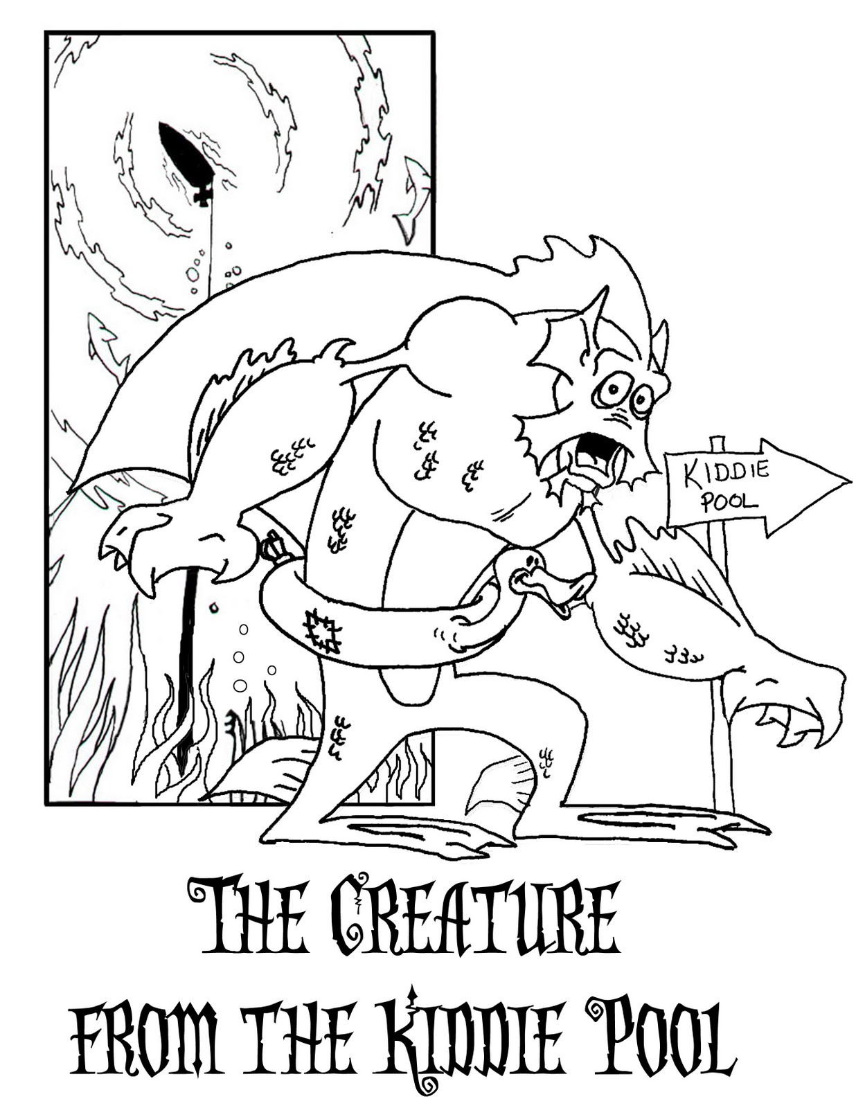 lagoon coloring pages - photo#7