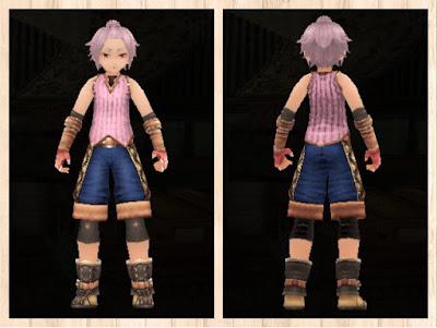ストレイエの服・軽量化・ピンク1・男