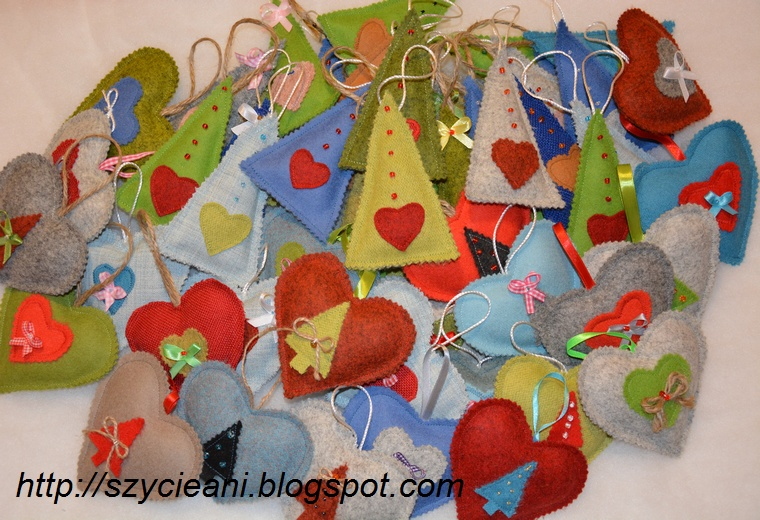 Świąteczne ozdoby dla Schroniska w Gaju