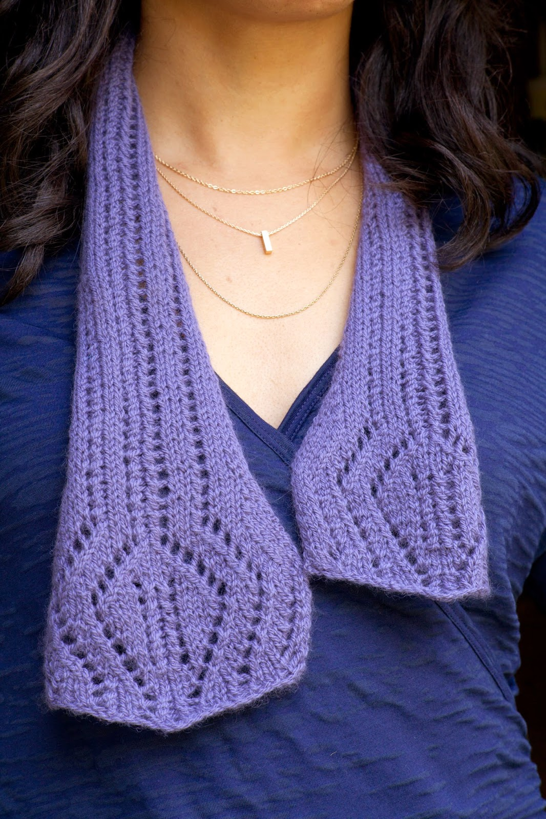 Nelkin Designs Blog: Forza Scarf: A free pattern from Knockout Knits