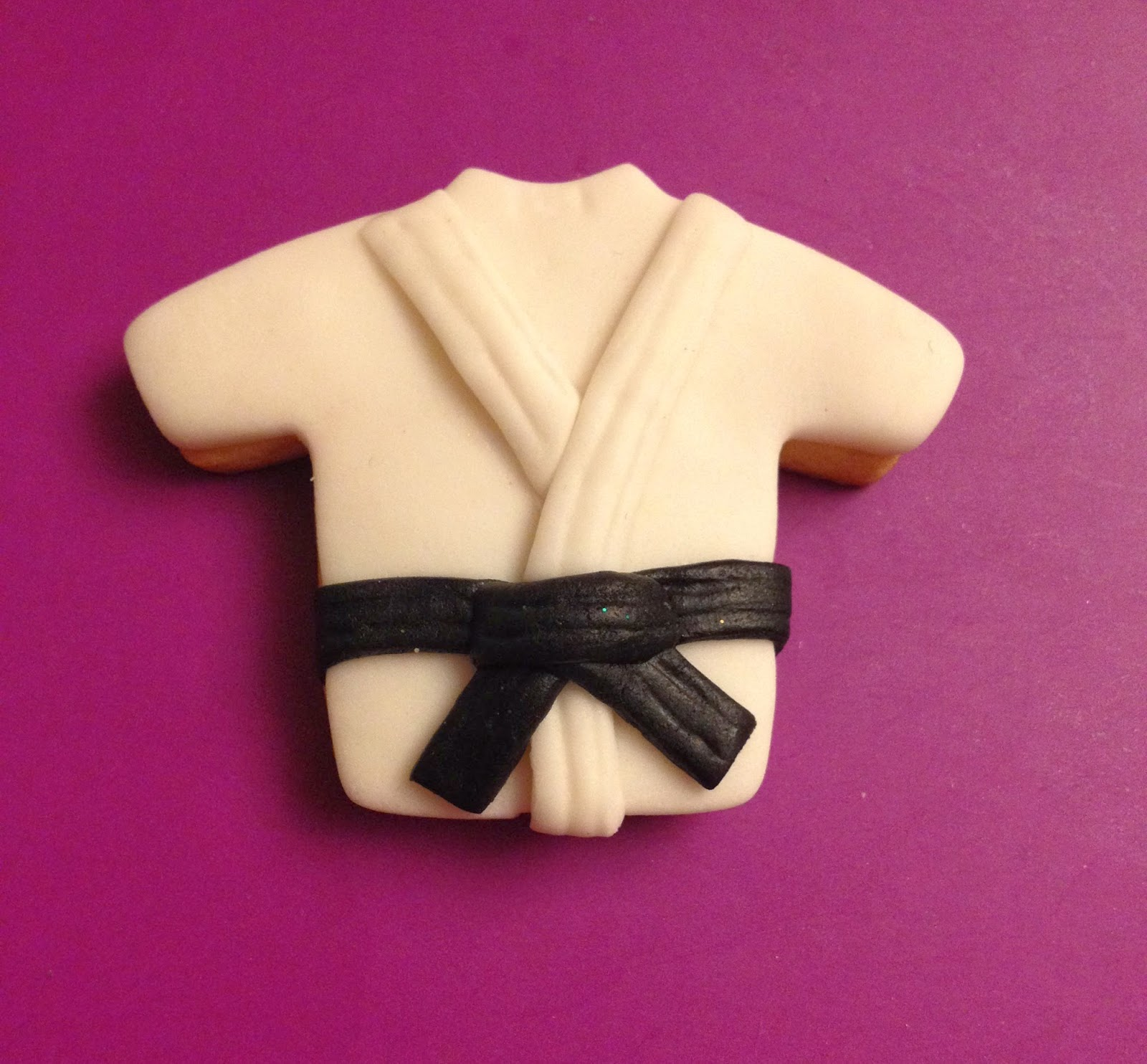 GALLETA, FONDANT, JUDO, GALLETA DECORADA