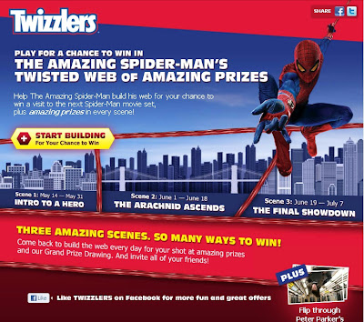 Twisted Web of Amazing Prizes screen 1