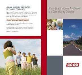 Informacion sobre el Plan Asociado de Pensiones de CCOO