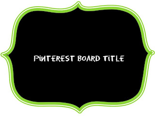 Pinterest Board Cover Example
