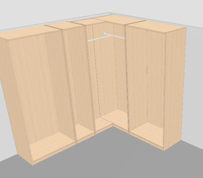 Armario esquinero blanco puertas deslizantes armario for Armario esquinero ikea