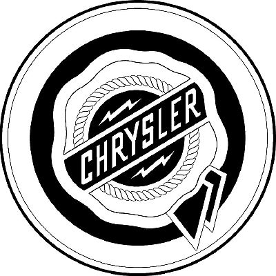chrysler auto logo with - photo #24