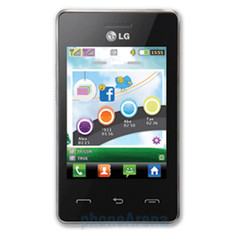 LG T375 ABOUT:BLANK