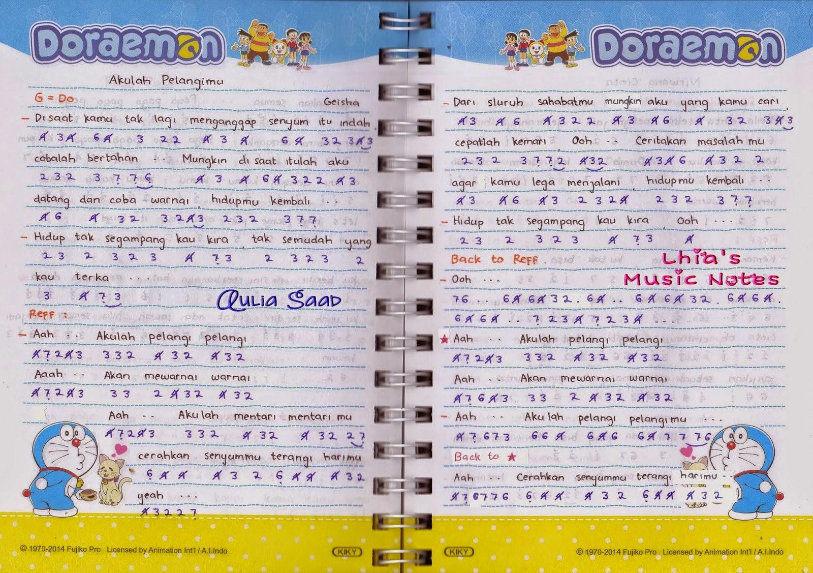 Chord Gitar Dan Lirik Lagu Indonesia Barat Korea Terbaru ...