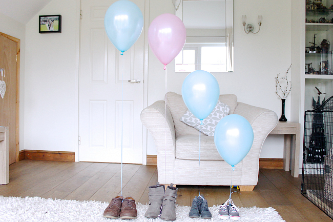 gender reveal, balloon gender reveal, gender reveal ideas