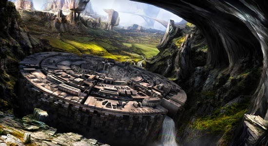 Matte Painting Tutorial in Photoshop