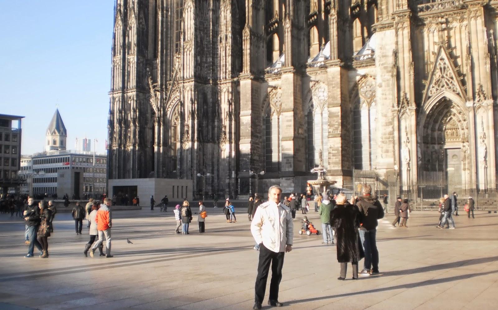 مسعود بیزارگیتی-آلمان(کلن)-کلیسای جامع دم(Kölner Dom)