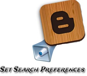search preference by blogger