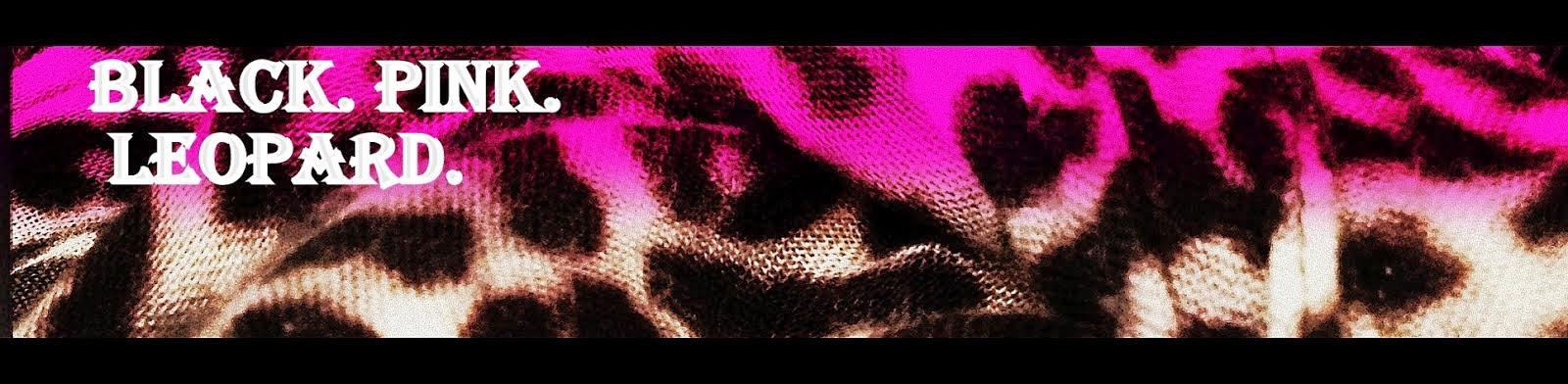 Black Pink Leopard