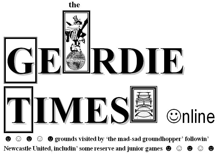 the geordie times online (newcastle united archive fanzine)